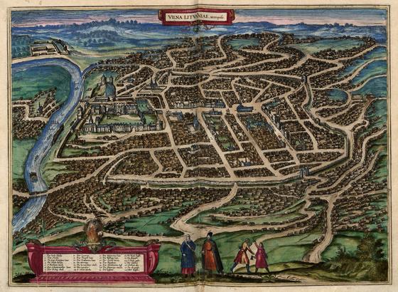 Országos Széchényi Könyvtár: Vilnius (Vilna) a XVI–XVII. század fordulóján