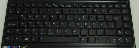 ASUS Eee PC 1201N billentyűzet