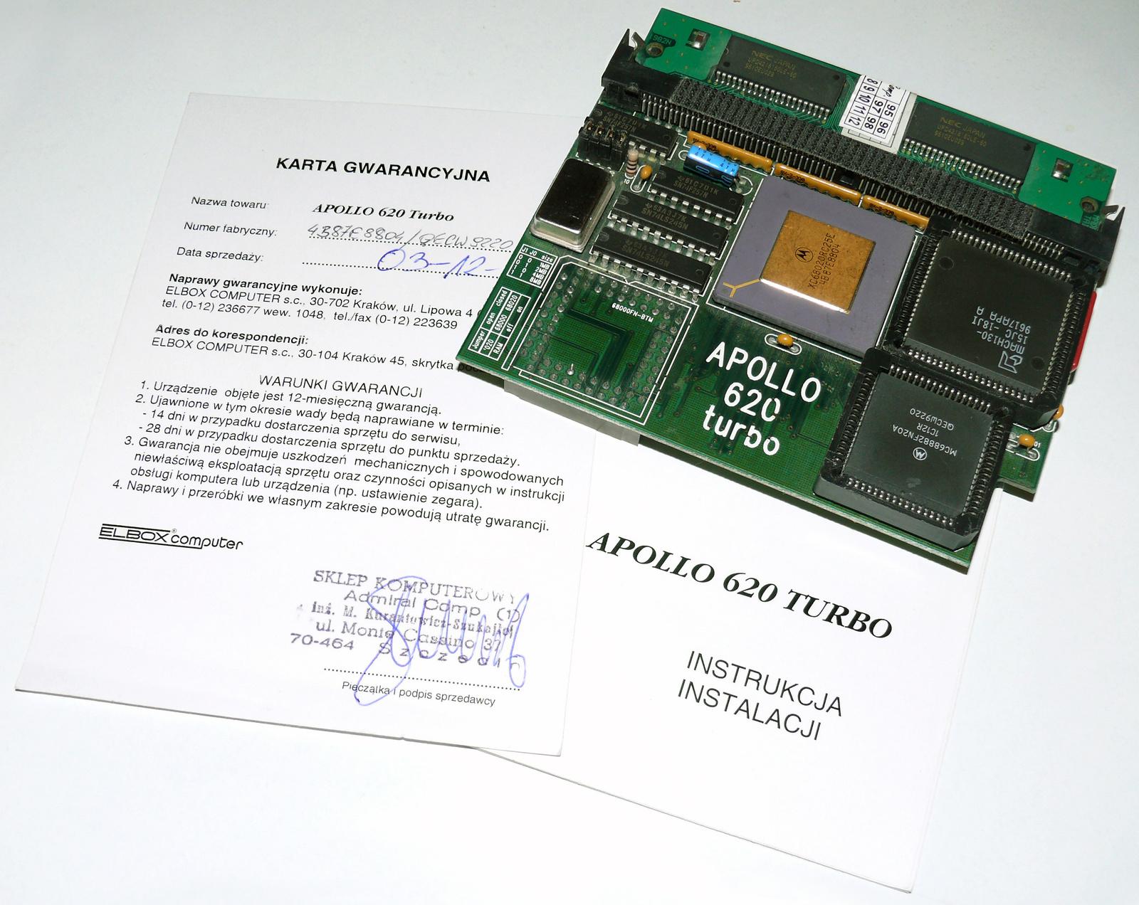 Elbox Apollo 620 Turbo