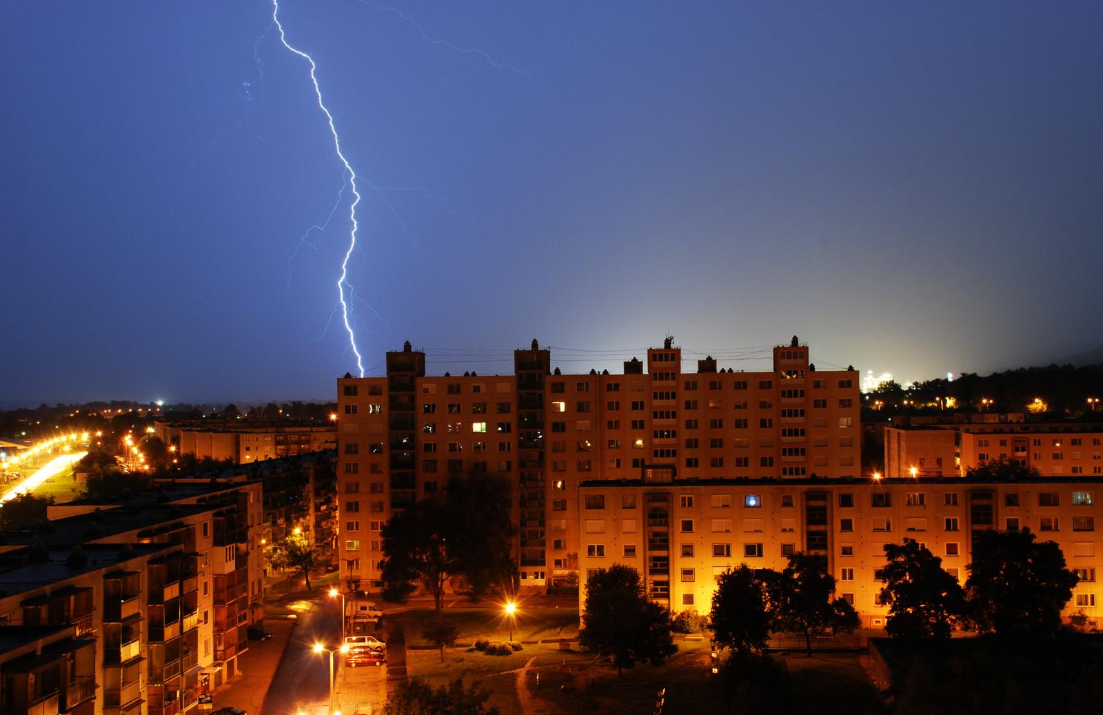 viharos éjszaka
