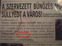 freddyD: mafia DrSzolon