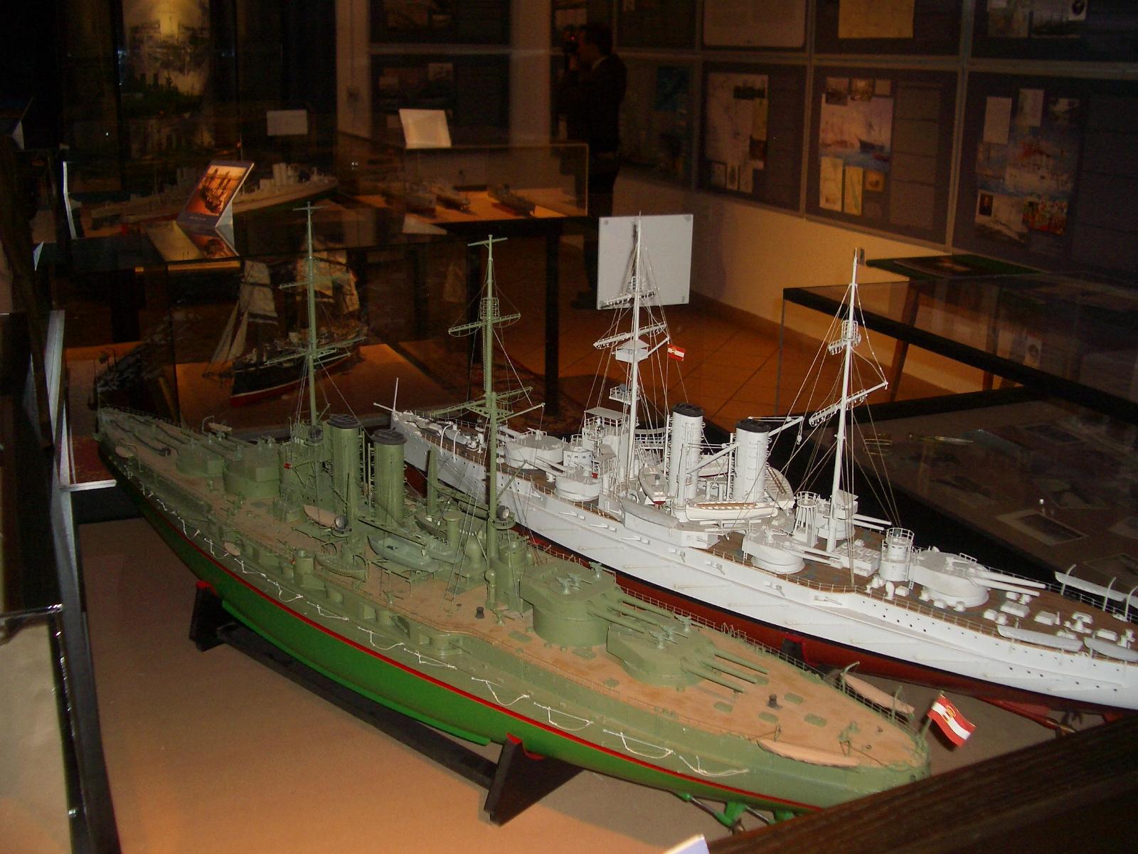 A Viribus Unitis és a Zrinyi csatahajók