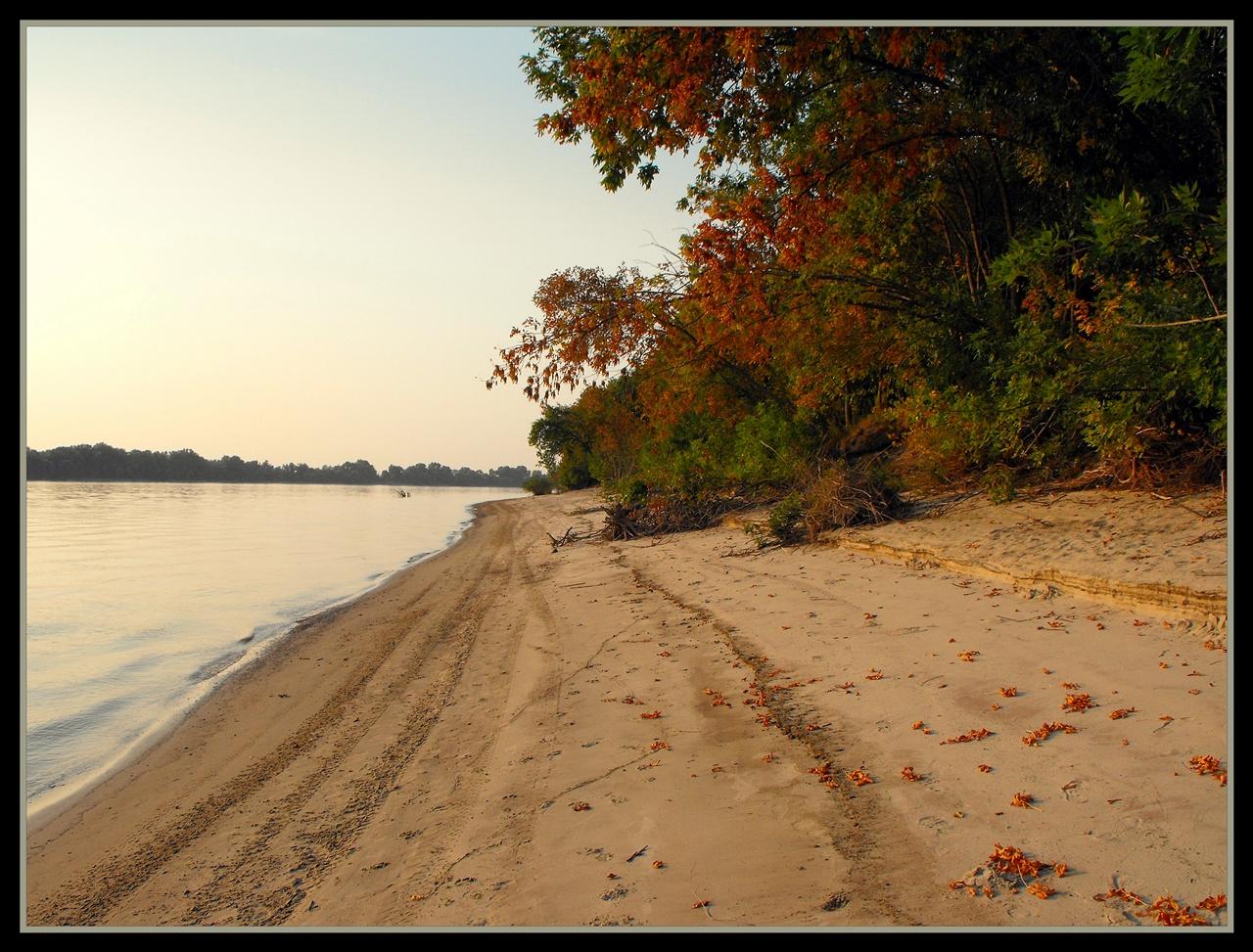 Őszi strand