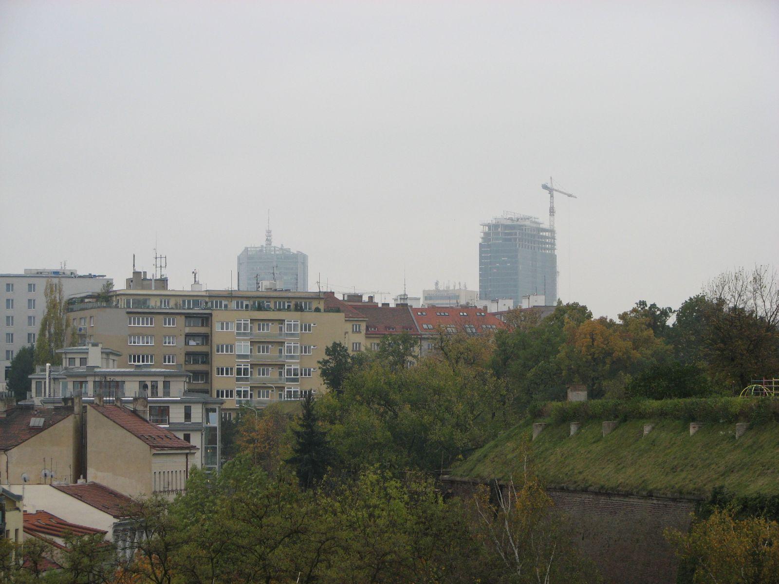 Épülő felhőkarcoló