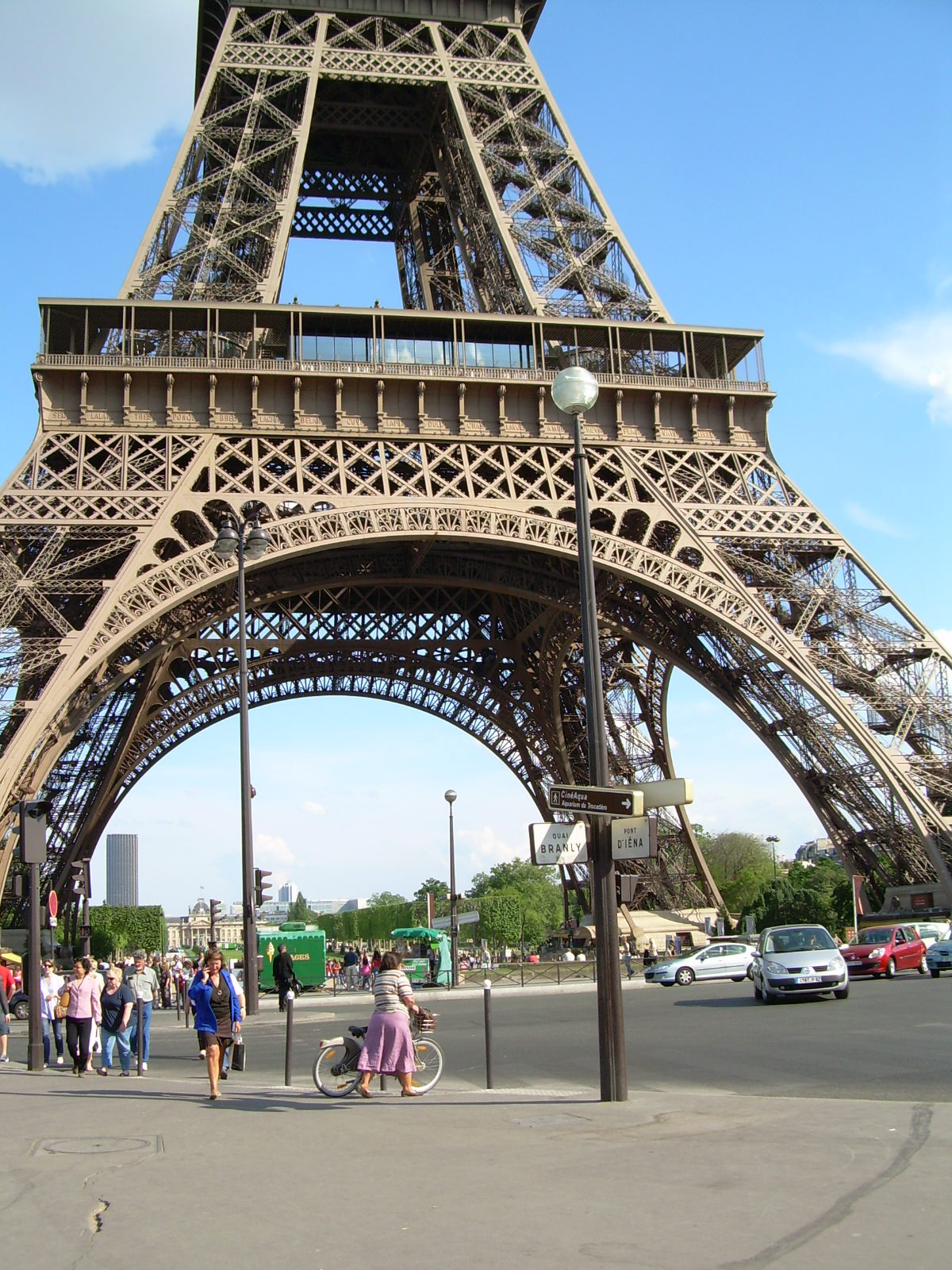 Eiffel-torny lába